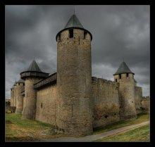 Твердыня катаров / Средневековая крепость Каркасон на юге Франции
