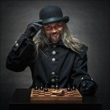 """Гроссмейстер / Или Тот, с кем никогда не стоит играть. Еще один снимок с практических занятий. На фотографии: Алексей """"Крыс"""" Ширяев"""