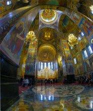 Собо́р Воскресе́ния Христо́ва на Крови́ или Храм Спа́са-на-Крови. / Петербург...