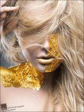 Gold / MUA, Face-art • Аня Кичаева Модель • Ilona Solo