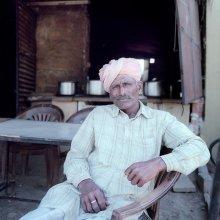 Портрет в Джайсалмере / Индия, город Джайсалмер в пустыне Тара.