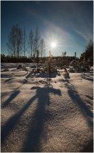 Уходящая зима / .... заходящее Солнце....
