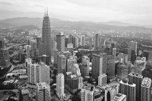 Башни / Сугубо видовая картинка: Куала-Лумпур