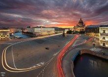 / http://serg-degtyarev.livejournal.com/79324.html  панорама из 4х горизонтальных кадров, выдержка от 10 до 15 секунд для нижних кадров и дублей с трассерами, дубли для разгорающейся подсветки и пересветов, 19мм, без фильтров
