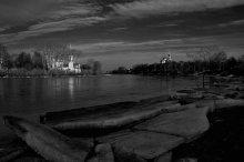 Последний лёд / г. Вологда, ц. Сретения, ансамбль Вологодского кремля, река Вологда