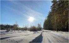 Зимняя дорога / .... еще живы воспоминания: зимы морозные следы... :)
