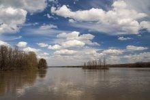 Весенняя река. / р.Обь,28 апреля 2013г.