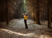 В весеннем лесу / ***