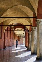 Belle Arti / City scene in Bologna /Italy