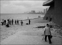 накрылась рыбалка / Тель-авивский пляж. Февраль 2010 г.