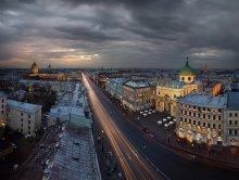 над Невским / 2012-04-23 21:30-22:03 11 °C