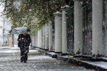 шёл тёплый снег / майский снегопад на алтае
