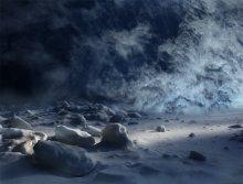 Стена Холода... / Работа сделана из моих фотографий отснятых в разных местах и разное время... Сводилось в PS3..