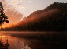 Утро / Восход над Северским донцом.