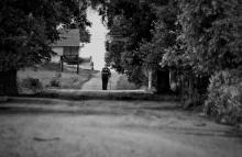 Не могу придумать название... Ну и хрен на него. / Снято спонтанно, в деревне недалеко от п. Мир, Беларусь.