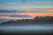 Закат у реки / закат как закат... и туман как туман... ничего нового :)