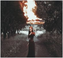 Anna in flames / ///