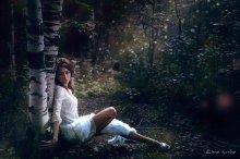 Девушка в белом / https://vk.com/ae_photoart
