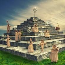 Pejo's ziggurat / Странствующие куклы господина Пэжо (г.СПб)
