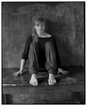 Лера, мастерская, ноябрь 2013 / портрет