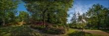 UK. Valley Gardens. Virginia Waters. Panorama #05 / Один из прекраснейших английских парков - Valley Gardens, расположенный у озера Virginia Water неподалеку от Виндзора - входит в состав огромного Виндзорского национального парка. И один из немногих, открытых для бесплатного посещения в любое время дня и ночи. Сотня гектар всевозможных цветов и запахов...  официальный сайт: http://www.theroyallandscape.co.uk/gardens-and-landscape/the-valley-gardens/