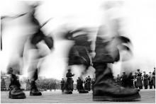 / Торжественный парад в Брестской крепости