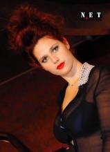 Модель итальянка. / Вечер моды в Италии. Модель Cecilia  Италия Турин Фотограф