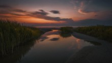Прогулка к вечернему заливу / Бердянск.Дальняя коса.Азовское море.