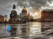 еще раз про зонтик, дождь и Исакий / ********************
