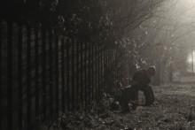 туманным вечером 2 / д. Болотня