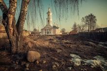 Храм Вознесения Господня. / Тверская область.Город Кимры.