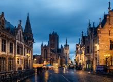 Вечерний Гент / Наверное, один из самых популярных видов в Генте.