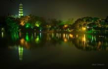 Sizhou Pagoda in Huizhou / Красиво там !