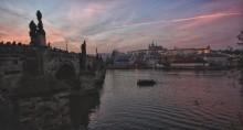 Вечерняя Прага / ноябрь 2013