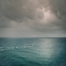 Тихий океан / Вид с Гавай на Австралию