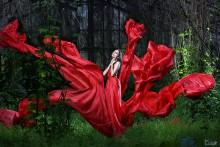 Танец платья / прогулки с Александрой