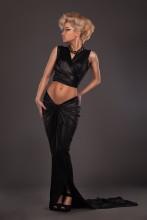 Anna / Photo: Vadim Maslikoff Model & Designer: Anna Yurchuk Location: Popcornstudio