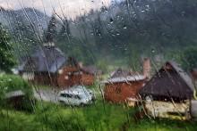 Дождь в Карпатах / Карпаты. Дождь.
