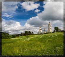 В Оковцах / Оковцы, Тверская область. Смоленская церковь