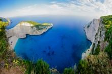 Бухта Навагио / Визитная карточка острова Закинф, Греция.