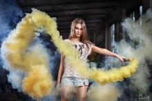 Дианна... / игры с дымом