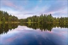 Карельский вечер / Небольшое озерцо на реке Шуя