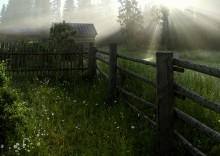 С утра пораньше выйди на крыльцо... / Утро в деревне...