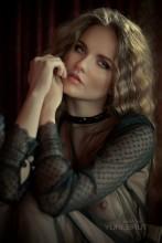 портрет кристины / снято в рамках моего мк в москве