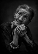 Портрет для души... / Уличный портрет вьетнамской женщины. Ханой, Вьетнам. 2014
