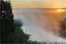 Утренняя протока / В Тульской области...