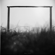 """the Gate in the fog.. / """" the Gate in the fog.. """" Rolley_film Agfa Superpan-200 type120 (6x6sm) Belarusian_autumn_2014 ;)) Belsky_2014"""