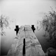 """"""" The porch in the Fog """" / """" The porch in the Fog.. """" Rolley_film Agfa Superpan-200 type120 (6x6sm) Belarusian_autumn_2014 ;)) Belsky_2014  http://photoclub.by/author.php?id_auth=252&works=252#id_auth_photo=252&id_serie=2516&img_per_page=30&page=1"""