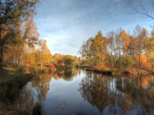 Осенний парк / Есть в осени первоначальной Короткая, но дивная пора... )))