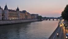 Прогулка по вечернему Парижу / Путешествие